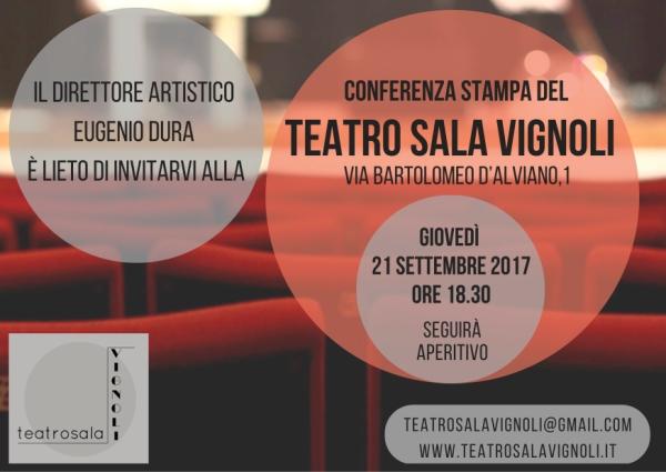 Conferenza stampa Teatro Sala Vignoli